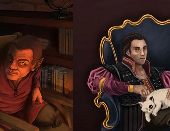 A könyvből két kulcsfontosságú karakter csatlakozik a 2.évadhoz