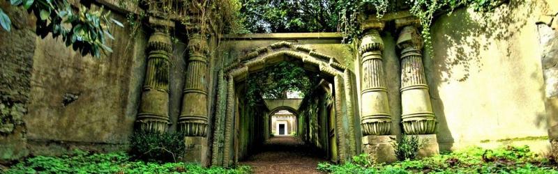 London egyik legkísértetiesebb temetőjében forgattak
