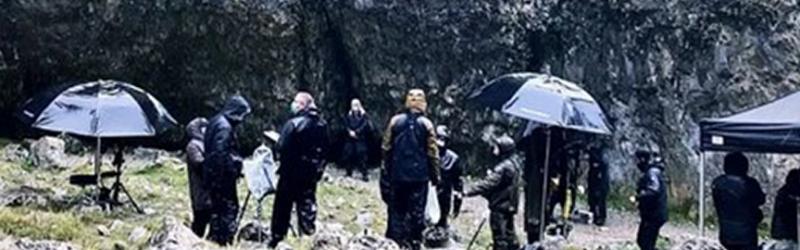 Henry Cavillt lefotózták a Gordale Scar-nél forgatás közben
