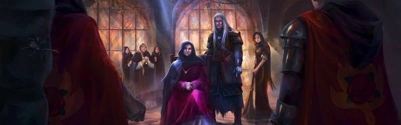 A Vaják a második évadban bemutatja Nenneke papnőt és a Melitele templomot