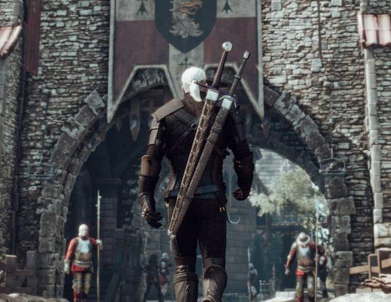 Új képek egy városi részletről, talán Geralt Oxenfurt felé tart?